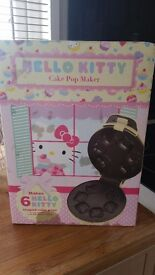 Hello Kitty Cake Pop Maker