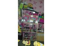 4 foot dolls house