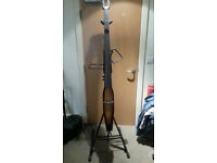 Stagg EDB 4-String Electric Double Bass in Violinburst with Padded Gig Bag and Stand