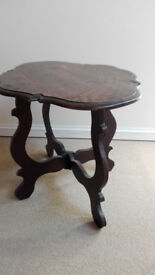 Period tea table finely crafted