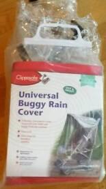 Universal pushchair rain cover