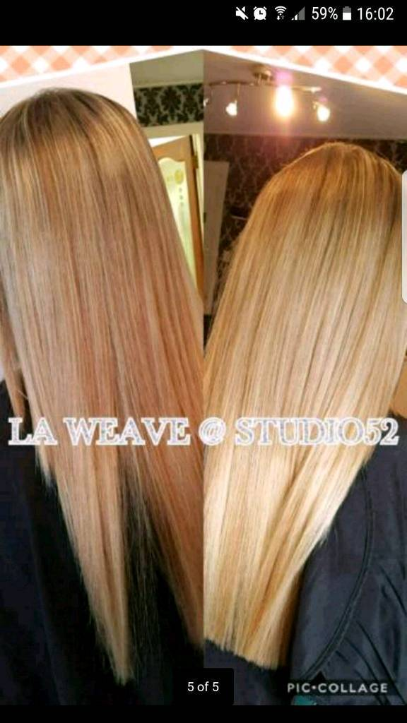La Weaves And Micro Weaves Fitting In Glasgow City Centre