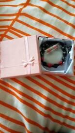 Bracelet and ear rings set