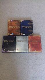 Merlin season 1 - 5 DVD