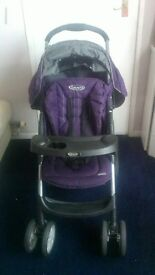 PUSHCHAIR/BUGGY/ Stroller: Graco Mirage Pushchair with Full Rain Cover