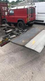 24 volt electric hydraulic tail lift