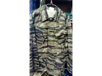 Army tiger stripe shirt