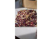 Confetti - Dried rose petal confetti - new and unused