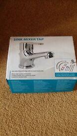 Basin sink mixer tap