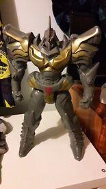 Large transformers action figure