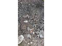Clean Topsoil (loose), landfill (mot) and hardcore free to collector