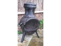Cast iron Chiminea