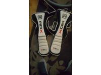 rdx gel size l shin pads mma kickboxing martial arts etc