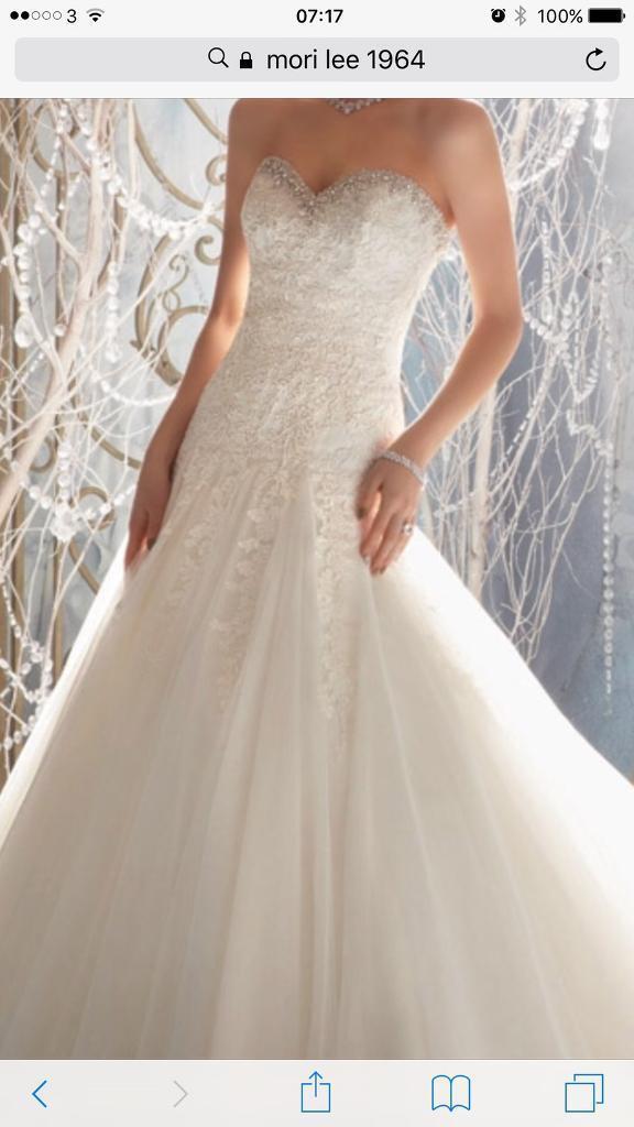 ec9f770d964 Brand new stunning Designer Wedding Dress by Mori Lee. Weston-super-Mare ...
