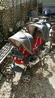 Duo glider double child stroller