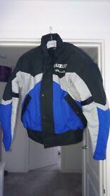 Men's suzuki bandit motor cycle jacket for sale