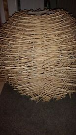 Wooden Contemporary Ceiling Light Shade