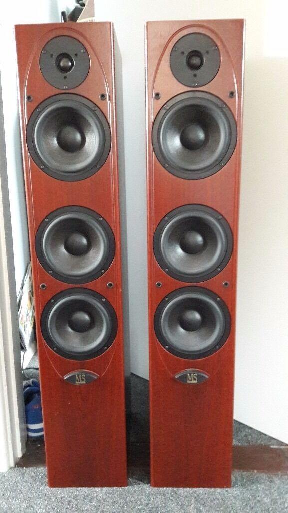 Mordaunt Short Ms 207 Floor Standing Speakers In Sudbury