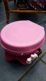 Girls Mini potty 3 in 1, brand new