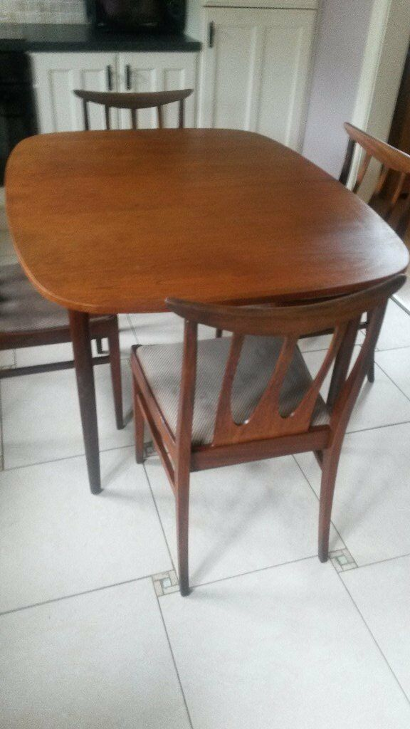 Sorry Agreed G Plan E Gomme Teak Extending Dining Table And