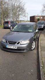 2007 Saab 9-3 vector sport with factory fitted sub woofer