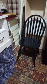 Brand new 44 wooden black dinning chairs £100
