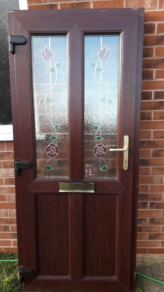 Upvc Rosewood Front Door In Maltby South Yorkshire Gumtree