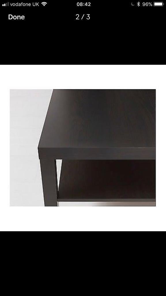 Ikea Large Black Coffee Table