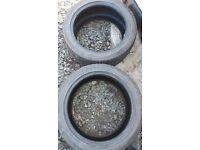 225/45 r17 tyres Vauxhall zafira