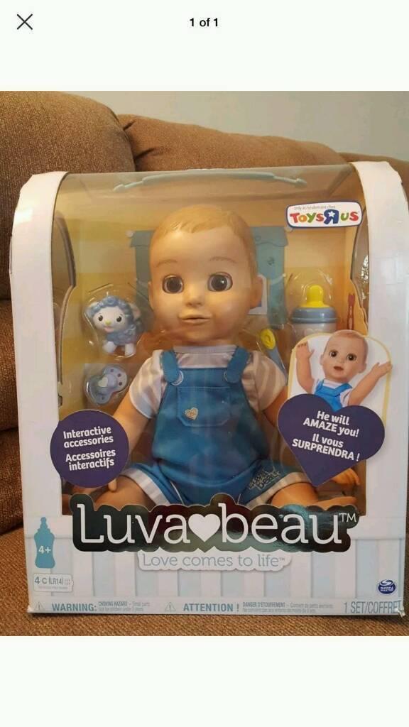 Luvabella Blonde Hair Doll Boy