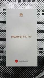 Huawei P20 Pro 128 gig unlocked swap for Samsung S9 Plus