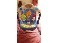 Fisher price kick and play bouncer