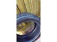 Part worn 245/45/zr18 tyres