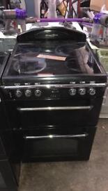 Black leisure cooker 60cm