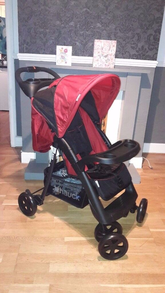 HAUCK CAVIAR / TANGO SHOPPER NEO II PUSHCHAIR STROLLER BABY BUGGY WITH RAINCOVER NEW!!!