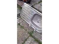Stainless steel kithen sink basin
