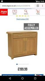 Bargain 3 piece furniture (tv stand, bookcase, unit) oak