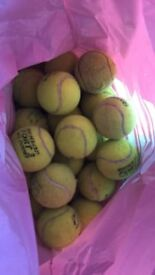30 tennis balls