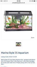 🌸 35l Fish Tank 🌸
