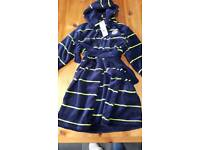 Boys dressing gown age 5-6 years