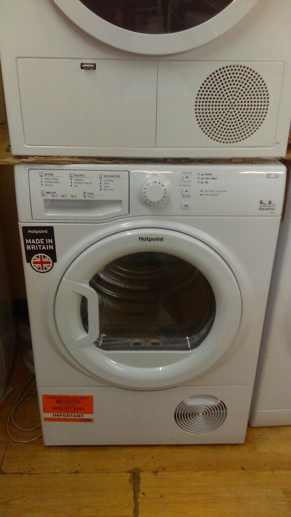HOTPOINT 9KG Condenser Tumble Dryer new ex display