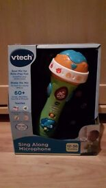 Vtech Sing Along Microphone (brand new)