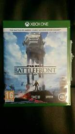 Star Wars Battlefront - Xbox One - Mint Condition