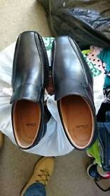 Clarks slip,on shoes. 7.