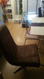 Set of Dining Office Swivel Chairs