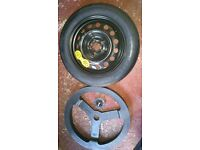 MG6 SPARE WHEEL WITH BOLT TO HOLD DOWN IN BOOT