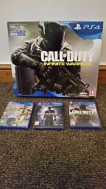 Brand new still in box ps4 slim . Ps4 all wire and controller and 3 brand new seald latest games