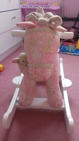 I am selling a little bird told me pixie and fluff rocking horse in near new condition!!!