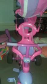 Girls trike still for sale