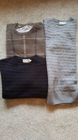 High street, mens jumpers only £15.00 each.